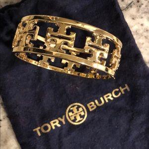 Tory Burch Reverse Cutout Logo Bangle